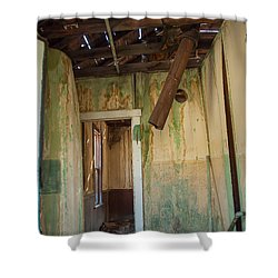Shower Curtain featuring the photograph Deterioration by Fran Riley
