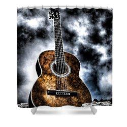 Devils Acoustic Shower Curtain