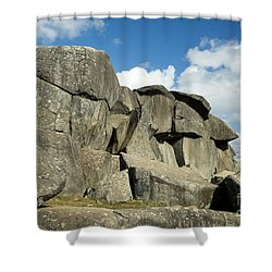 Devil's Den Formation 42 Shower Curtain by Paul W Faust -  Impressions of Light