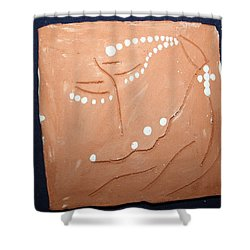 Devotion Shower Curtain by Gloria Ssali