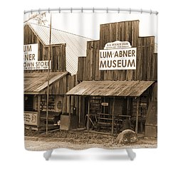 Dick Huddleston Store Est. 1909 Shower Curtain by Douglas Barnard