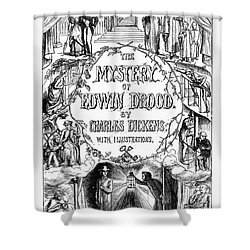 Dickens: Edwin Drood Shower Curtain by Granger