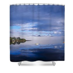 Dinish Island, Kenmare Bay, County Shower Curtain by The Irish Image Collection