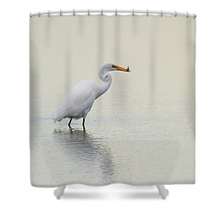 Dinner To Go Shower Curtain by Karol Livote