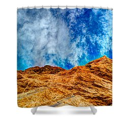 Dirt Mound And More Sky Shower Curtain