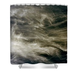 Shower Curtain featuring the photograph Dirty Clouds by Clayton Bruster