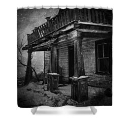 Dirty Thirty  Shower Curtain by Jerry Cordeiro