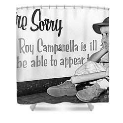 Disappointed Boy, 1957 Shower Curtain by Granger