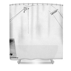 Discovery Of Infrared Radiation In Shower Curtain by Science Source