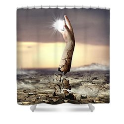 Divine Touch  Shower Curtain