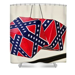 Dixie Dice Shower Curtain by David Lee Thompson