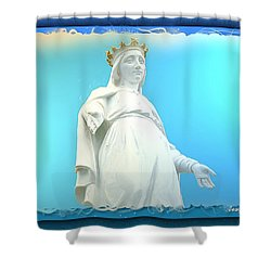 Do-00531 Our Lady Of Lebanon Shower Curtain