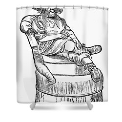 Dog-faced Boy, 1874 Shower Curtain by Granger