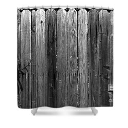 Dog Inside. Leave Mail In Yard. Shower Curtain by CML Brown