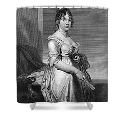 Dolley Payne Todd Madison Shower Curtain by Granger