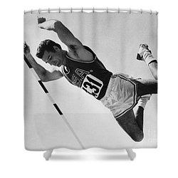 Donald Bragg (1935- ) Shower Curtain by Granger