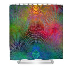 Dont Fence Me In 2 Shower Curtain by Tim Allen