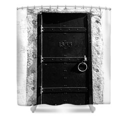 Door To Cape Florida Shower Curtain by David Lee Thompson