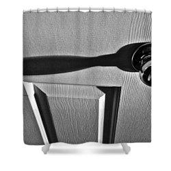 Shower Curtain featuring the photograph Doorknob by Bill Owen