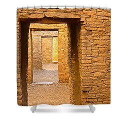 Doorway Chaco Canyon Shower Curtain