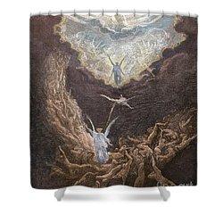 DorÉ: Last Judgment Shower Curtain by Granger