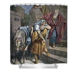 Dore: Good Samaritan Shower Curtain by Granger