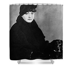 Dorothy Parker (1893-1967) Shower Curtain by Granger