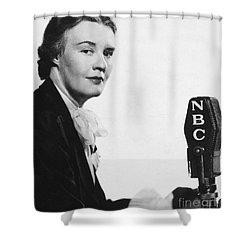 Dorothy Thompson Shower Curtain by Granger