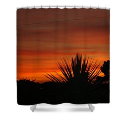 Shower Curtain featuring the photograph Dorset Sunset by Katy Mei