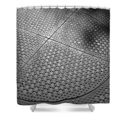Dots Of Central Park Shower Curtain by Rob Hans