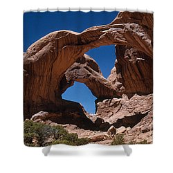 Double Arch Shower Curtain by Photo Researchers