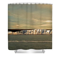 Dover Shower Curtain by Linsey Williams