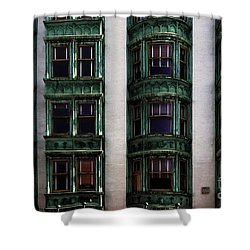 Downtown San Francisco Shower Curtain by Bob Christopher