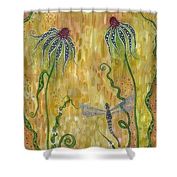 Dragonfly Safari Shower Curtain