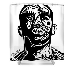 Drake Shower Curtain by Kamoni Khem