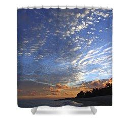 Dramatic Hawaiian Sky Shower Curtain by Vince Cavataio