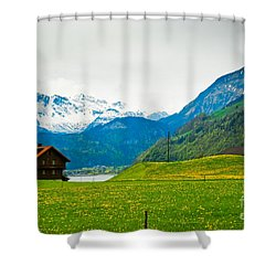 Dream Home Shower Curtain by Syed Aqueel