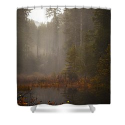 Dream Of Autumn Shower Curtain by Mike Reid