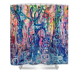 Dream Of Our Souls Awake Shower Curtain