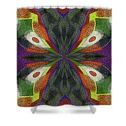 Dream Wings Shower Curtain by Alec Drake