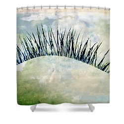 Dreamer Shower Curtain by Julia Wilcox