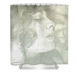 Dreaming Shower Curtain by Rory Sagner