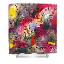 Dreams At Dawn Shower Curtain