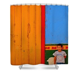 Dreams Of Kids Shower Curtain by Skip Hunt