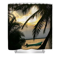 Drift Away Shower Curtain by Dolly Sanchez