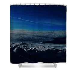 Drifts Of Time Shower Curtain by Jerry Cordeiro