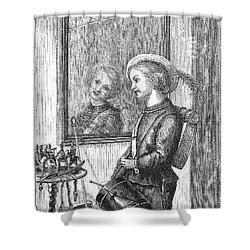 Drummer Boy, 1873 Shower Curtain by Granger