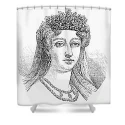 Duchess Of Angoul�me Shower Curtain by Granger
