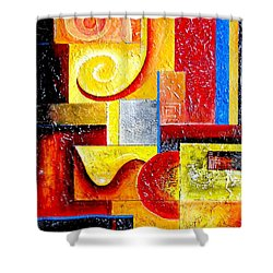 Duospiral Shower Curtain