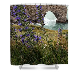 Shower Curtain featuring the photograph Durdle Door by Milena Boeva
